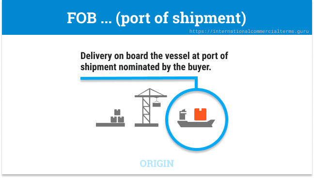 Incoterms 2020 FOB Delivery